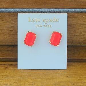 Kate Spade Coral Earrings